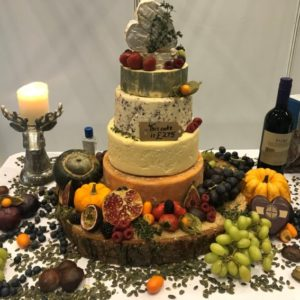 Golden Glory Wedding Cheese Cake by Churchmouse Cheeses